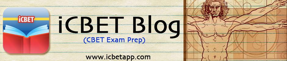 CBET EXAM | iCBET: CBET Review Application Blog